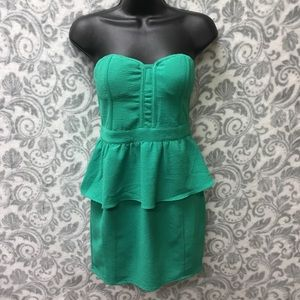 Pins and Needles green cocktail dress size 2